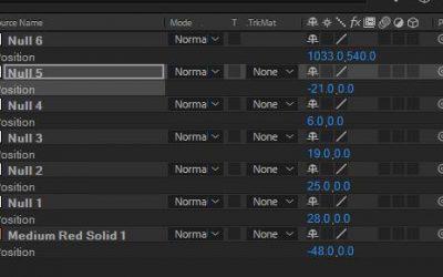 After Effects 教學:你有所不知的AE小技巧!讓你AE操作得更快更順!